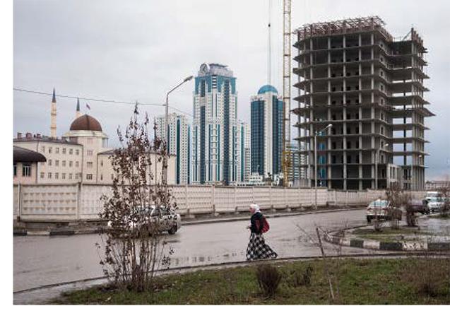 Grozny : Neuf Villes