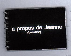 À propos de Jeanne - Nicolas Comment