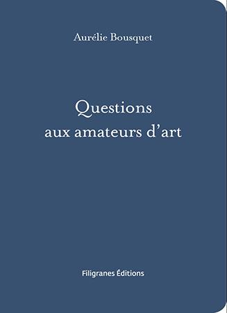 Questions d'artiste
