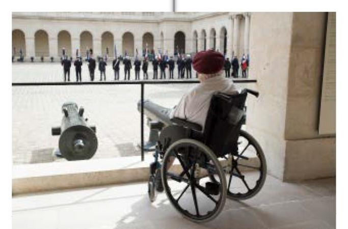 Invalides. Mémoires de guerre